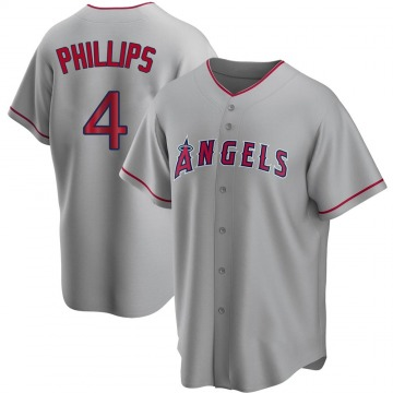 Youth Brandon Phillips Los Angeles Angels of Anaheim Replica Silver Road Jersey