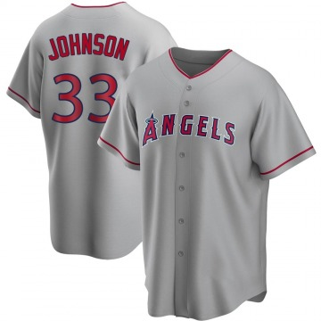 Youth Jim Johnson Los Angeles Angels of Anaheim Replica Silver Road Jersey